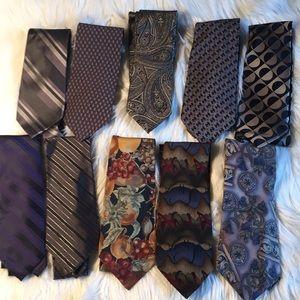 Lot of Neck Ties